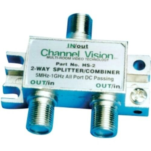 Channel Vision 2 Way Splitter/Coupler