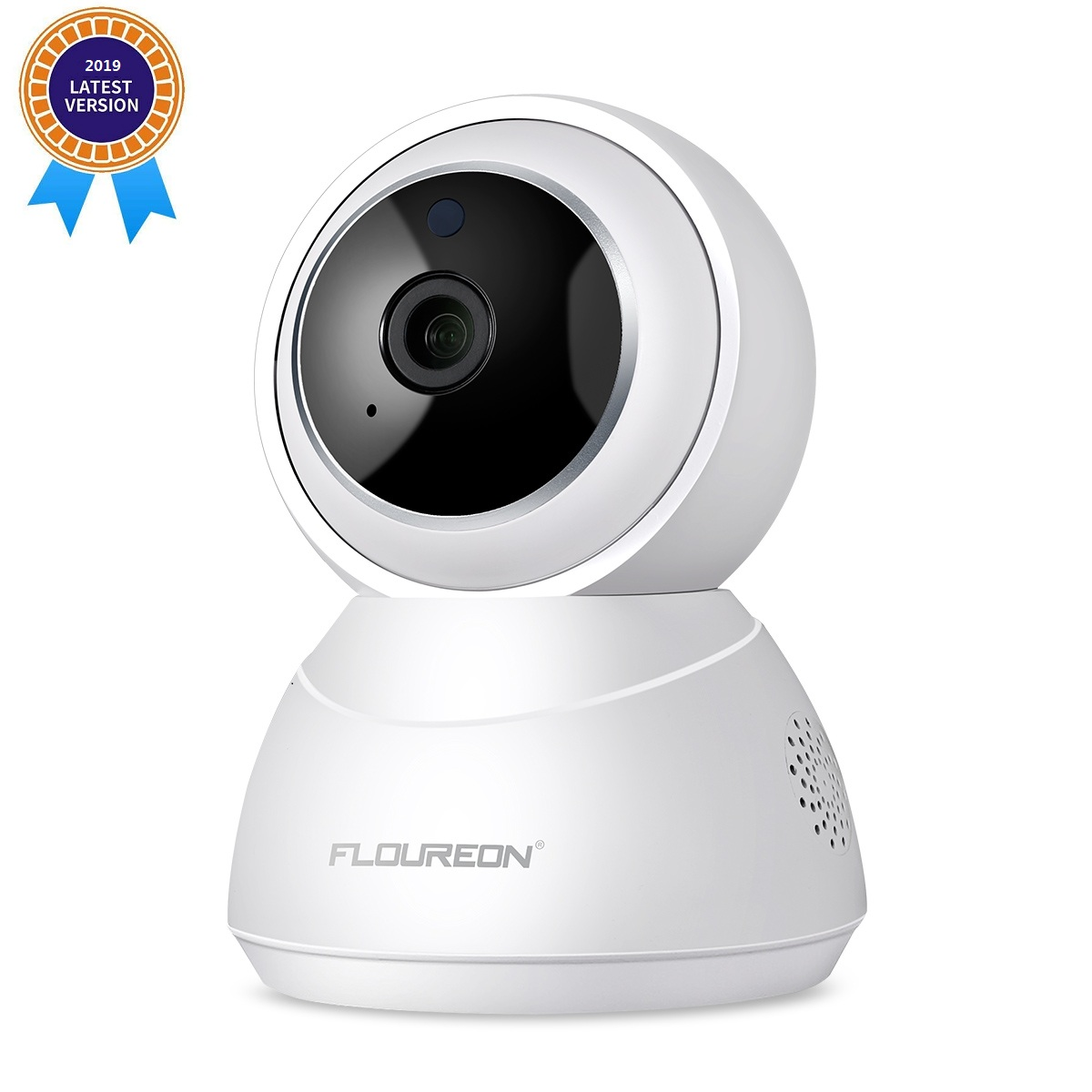 FLOUREON YI Cloud Home Camera, 1080P HD Wireless IP Security Camera Pan/Tilt/Zoom Indoor Surveillance System with Smart Tracking Night Vision Two Way Audio for Baby Monitor Pet Camera Home Security US
