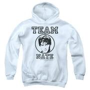 Gossip Girl Team Nate Big Boys Pullover Hoodie