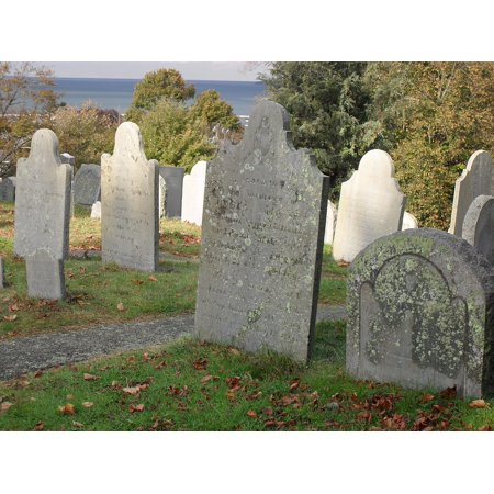 Framed Art for Your Wall Gravestone Cemetery Graveyard Grave Old Vintage 10x13 Frame](Gravestones For Sale)