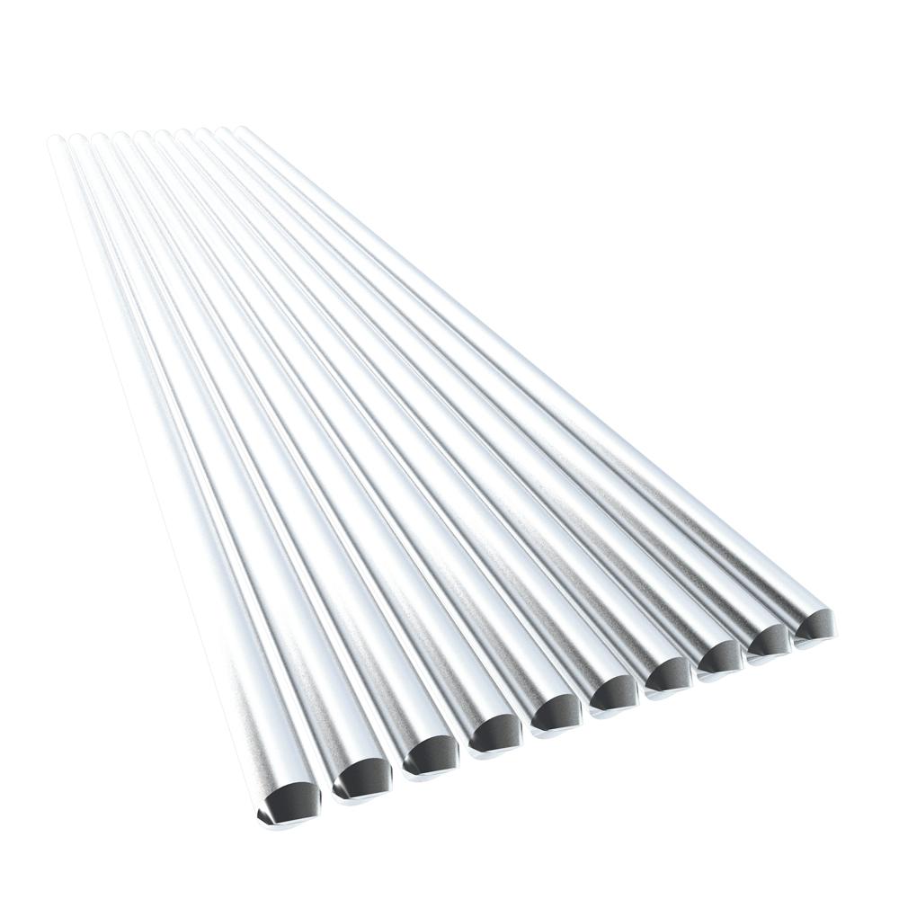 10PCS Low Temperature Aluminum Welding Wire Flux Cored 2.4mm*230mm Al-Mg Soldering Rod No Need Solder Powder