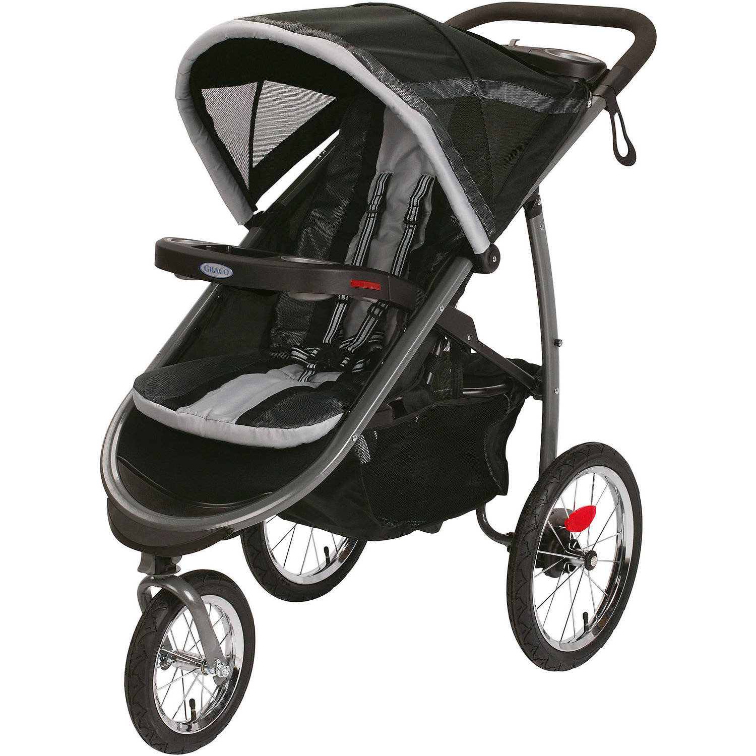 Graco Fastaction Fold Jogger Click Connect Jogging Stroller Gotham