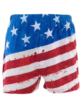 c0f2168673 Product Image Briefly Stated Men's Painted USA Flag Boxer Shorts