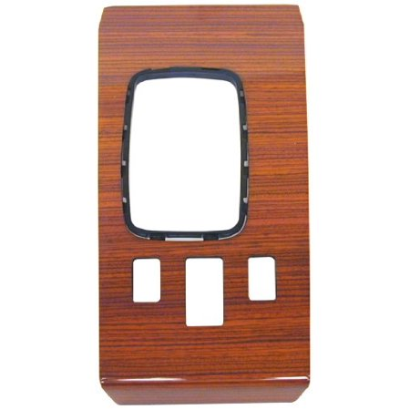 URO WK107ZC1 APA/ Parts Wood Trim - Shift Cover Plate, Zebrano; Manufacturer suggests professional installation of wood (Zebrano Dome)