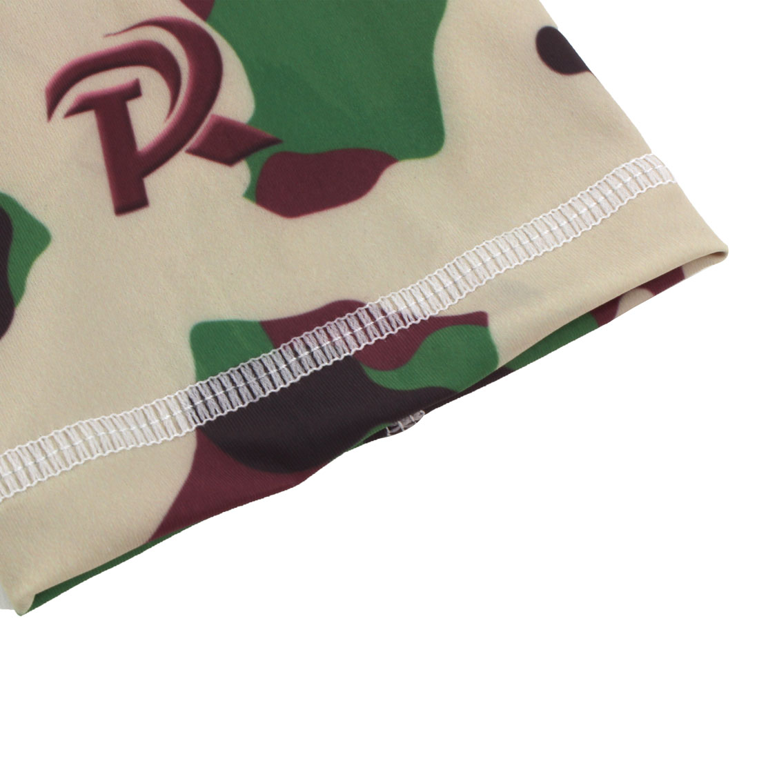 Basketball Patella Knee Brace Leg Sleeve Wrap Support Camouflage Green XL Pair - image 2 de 6