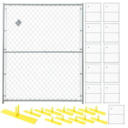 12 Panel Perimeter Patrol Kit, Chain Link