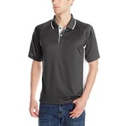 Charles River Apparel Men's Color Blocked Wicking Polo, Navy/White, XX-Large