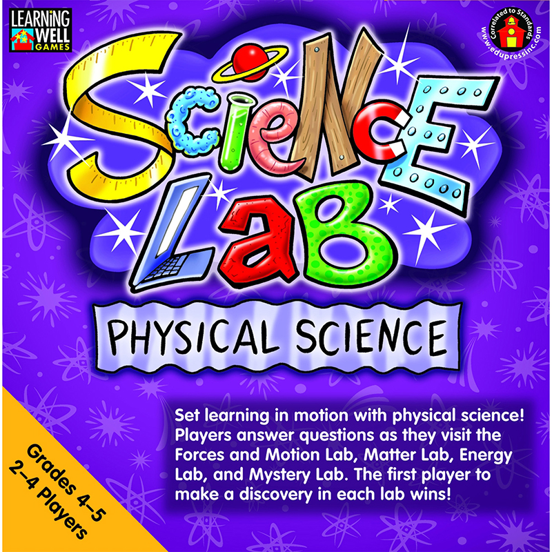 SCIENCE LAB PHYSICAL SCIENCE GR 4-5