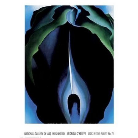Jack-In-The-Pulpit No IV Poster Print by Georgia OKeeffe (36 x (Mall Of Georgia Location)