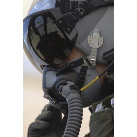August 2 2007 - Lieutenant sits in his A-10 Thunderbolt II after completing the first A-10C pilot initial qualification course at Davis-Monthan Air Force Base Arizona Poster (Course Pilot)