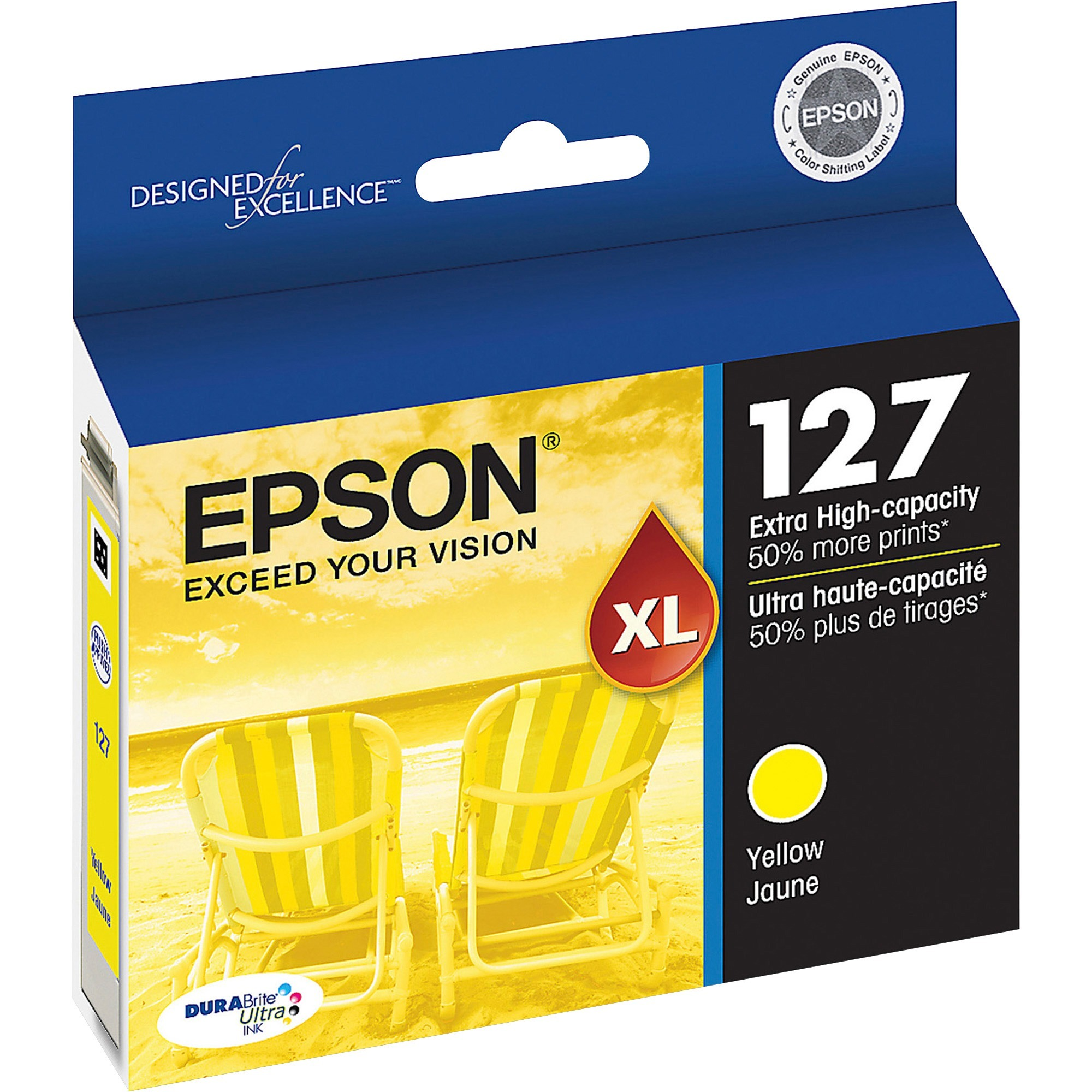 Epson, EPST127420, T127120/220/320/420 Ink Cartridges, 1 Each