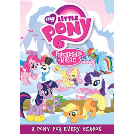 My Little Pony Friendship is Magic: A Pony for Every Season (DVD) (Friendship Bell)