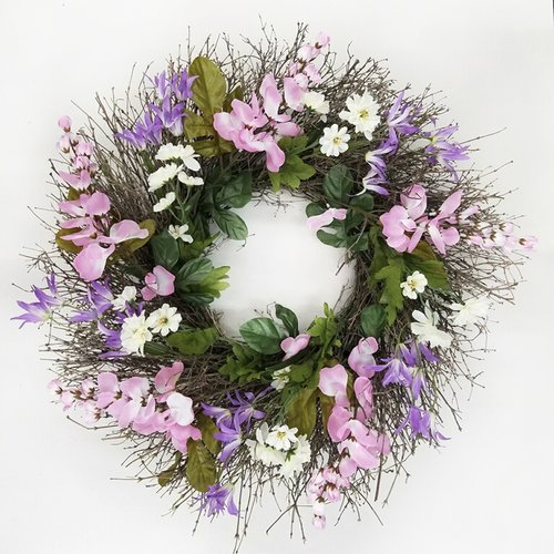 August Grove 22'' Silk Garden Wreath