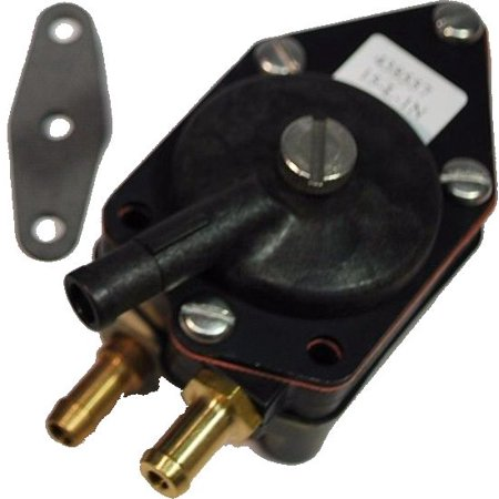 OEM BRP/OMC Johnson Evinrude Outboard Motor Fuel Pump w/Gasket 0438557