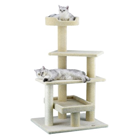Go Pet Club Premium 44 in. Carpeted Cat Tree - LP-815
