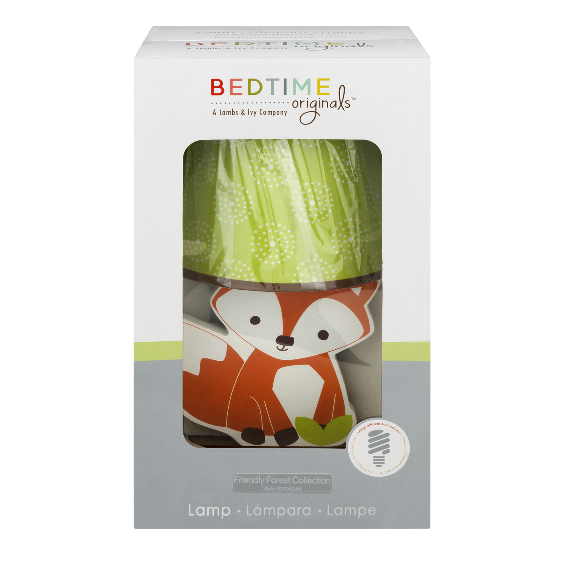 Bedtime Originals Lamp Friendly Forest Collection -1 CT1.0 CT