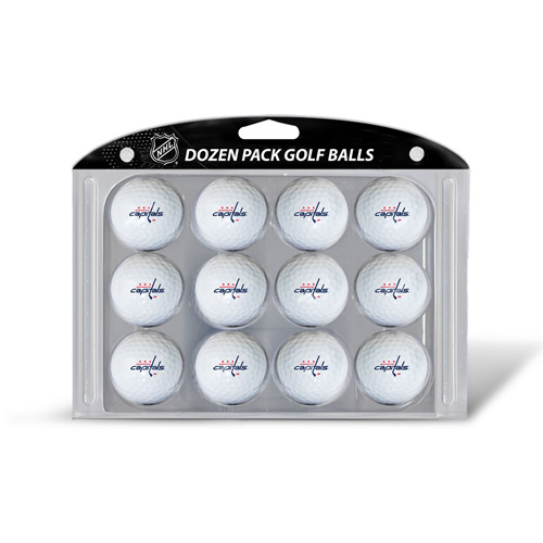 Team Golf NHL Washington Capitals Golf Balls, 12 Pack