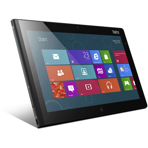 "Lenovo ThinkPad 2 with WiFi 10.1"" Touchscreen Tablet PC Featuring Windows 8 OS, Black"