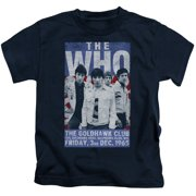 The Who Goldhawk Poster Little Boys Shirt