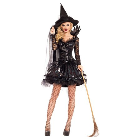 Witch King Of Angmar Costume (Midgnight Black Witch Shaper Adult Costume -)