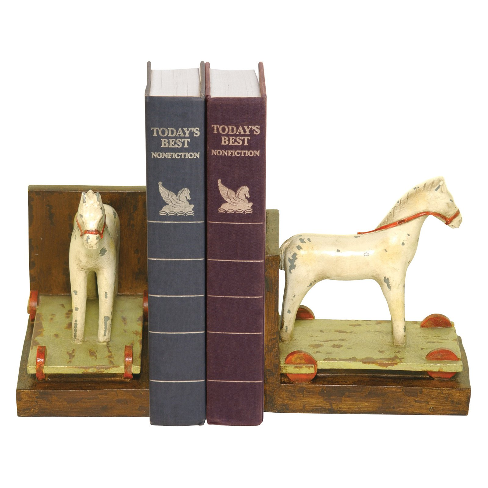 Elk Lighting Childs Pony Bookends by Sterling