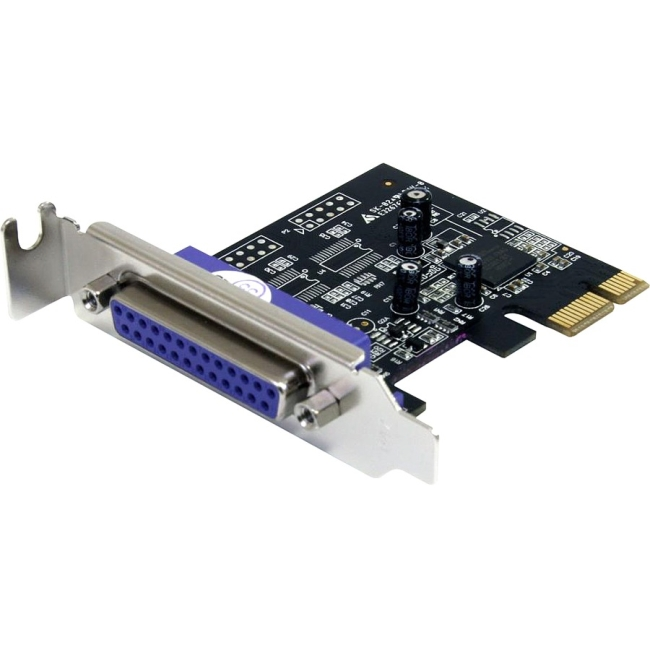 StarTech 1-Port PCI Express Low Profile Parallel Adapter Card
