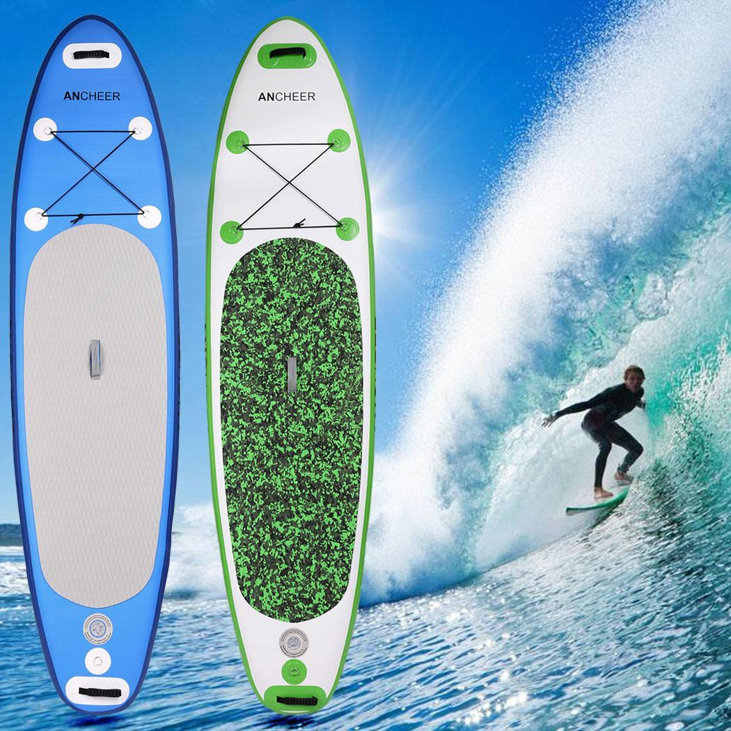 """10'(6""""Thick)Inflatable Stand Up Paddle Board Bundle Adven..."""