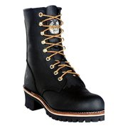 """Men's Georgia 8"""" Lace-Up Casual Work Boots BLACK 11.5 M"""