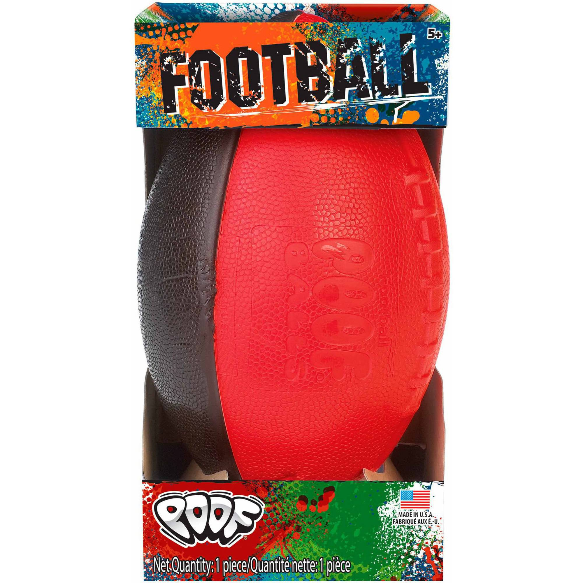 "Alex Brands POOF Standard 9-1/2"" Football in Box"