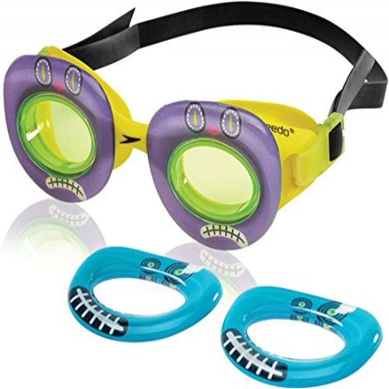 Speedo Kids' Neonwonders Swim Goggle, Goobot Frio by