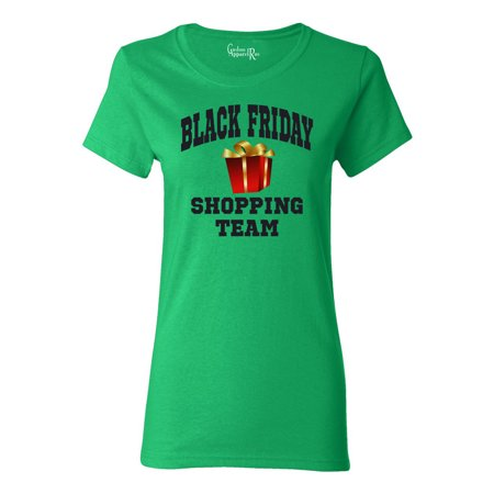 Black Friday Shopping Team Womens T-Shirt