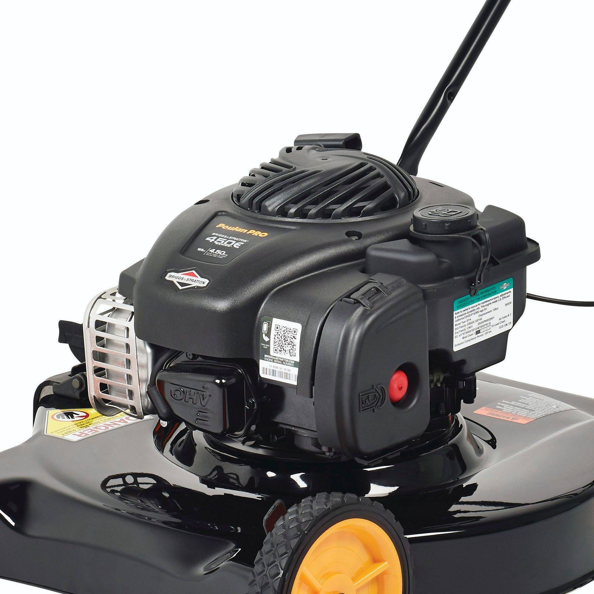 Poulan Pro 20 U0026quot  125cc Gas Powered  Side-discharged Push Lawn Mower