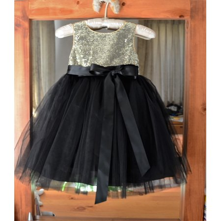 Tulle Easter Dress (Ekidsbridal Wedding Pageant Glitter Sequin Tulle Flower Girl Dress Toddler Junior Bridesmaid Recital Easter Holiday Communion  Birthday Girls Clothing Baptism Speicla Occasions 123s)