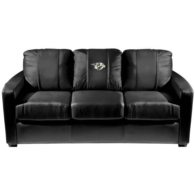 Nashville Predators NHL Silver Sofa