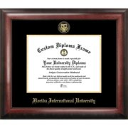 Florida International University Gold Embossed Diploma Frame
