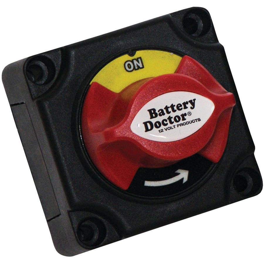 Battery Doctor 20387 Mini Master Disconnect Switch, Single Battery, 2 Position