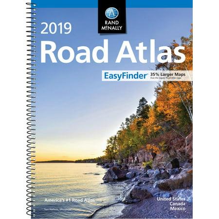 - Rand McNally 2019 Easyfinder Midsize Road Atlas