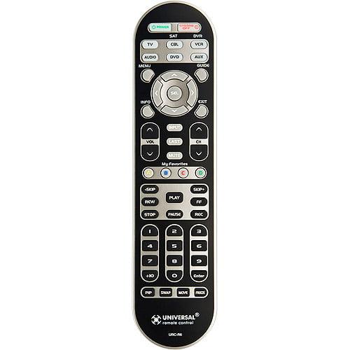 UNIVERSAL 6 Device Remote Control, R6