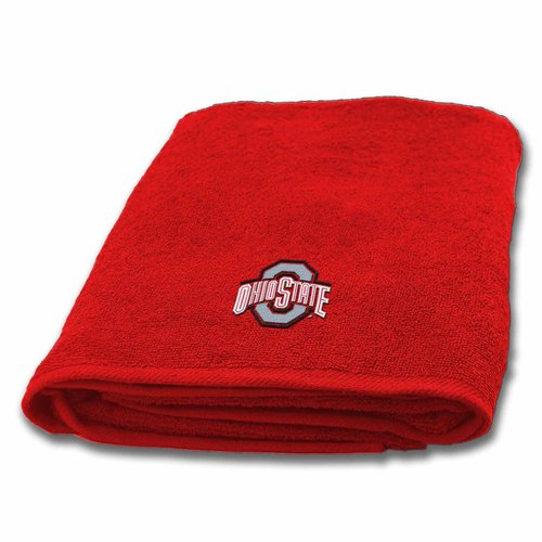 NCAA Ohio State University Bath Towel, 1 Each