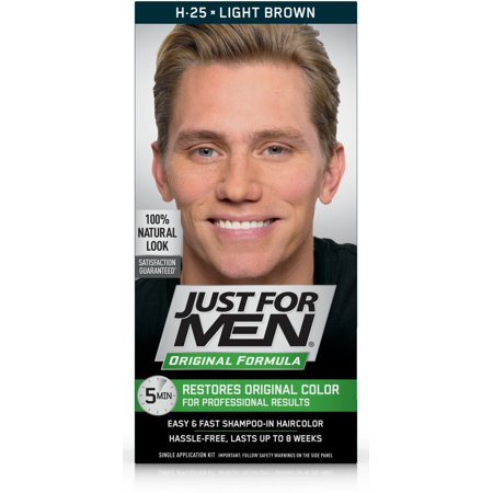 Just For Men Original Formula Men\'s Hair Color, Light Brown, Shade ...