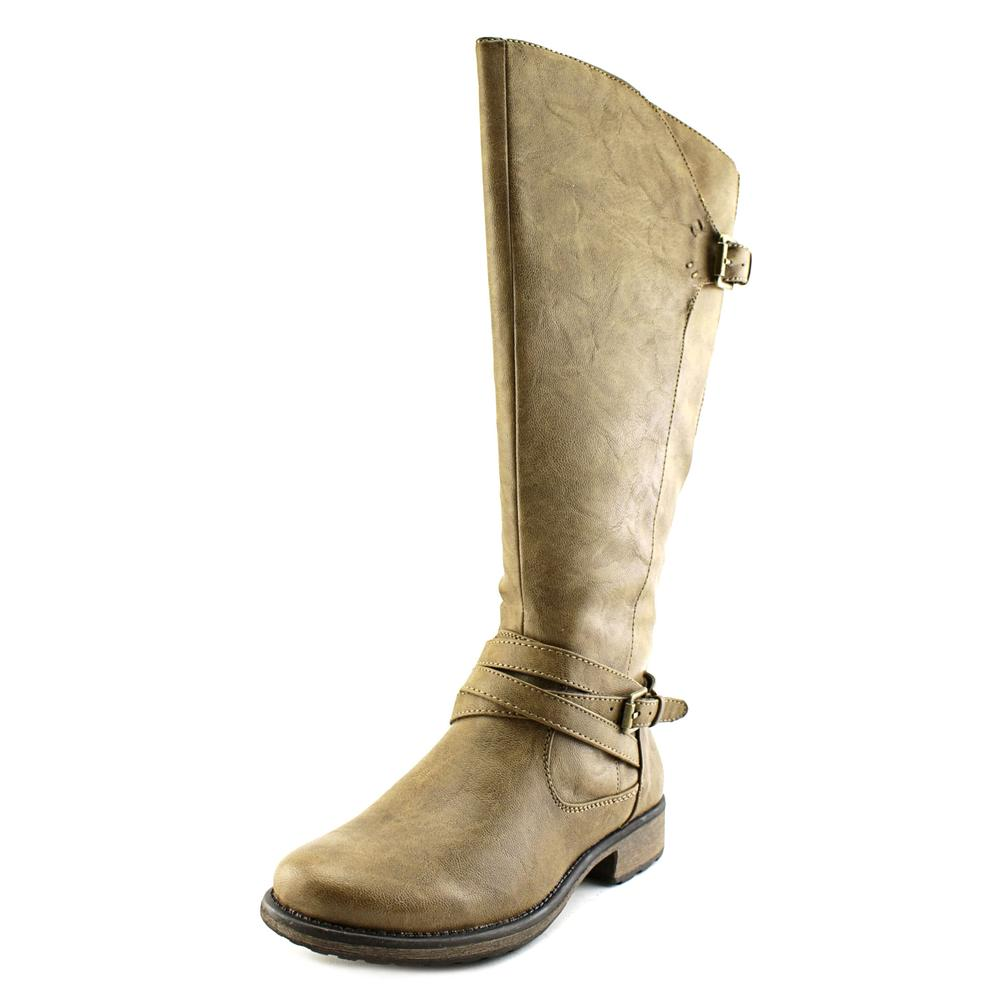Baretraps Susanna Women  Round Toe Synthetic Brown Knee High Boot