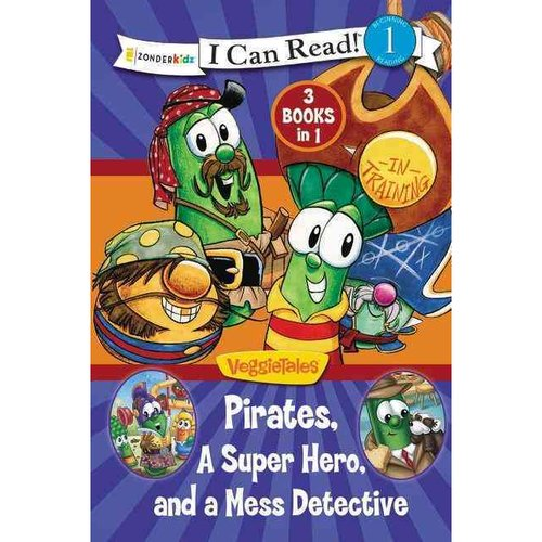 Pirates, Mess Detectives, and a Superhero: Pirate in Training, Larryboy and the Mudslingers, and Listen Up Larry