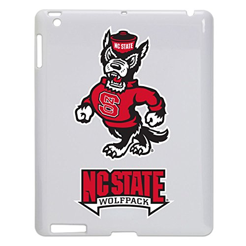 North Carolina State Wolfpack Tablet Case for iPad 2/3 - White