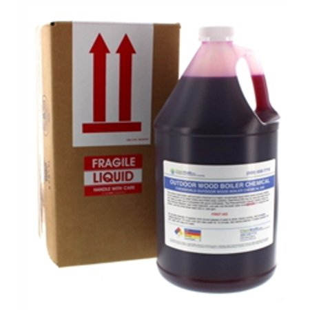 Boiler Rust Inhibitor - Rust Inhibitor for Wood Boiler - Outdoor Boiler Rust Inhibitor - Wood Boiler Chemicals - 1 Gallon - Treats 500 to 840 Gallons of (Best Outdoor Wood Boiler Reviews)