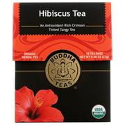 Buddha Teas Hibiscus Organic Tea, 18 Bags