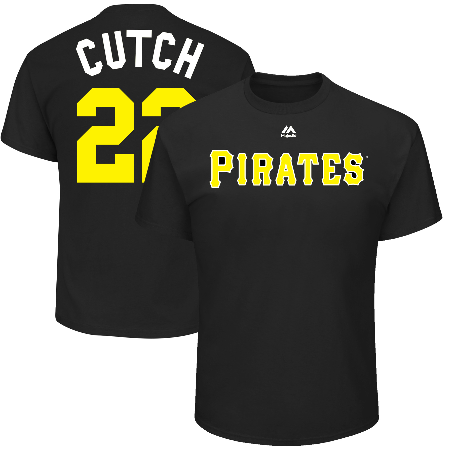 "Andrew McCutchen ""Cutch"" Pittsburgh Pirates Majestic Youth 2017 Players Weekend Name & Number T-Shirt - Black"