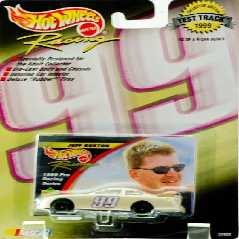 1999 Mattel Hot Wheels Racing Test Track Collector Edition #2 of 4 in Series Jeff Burton... by