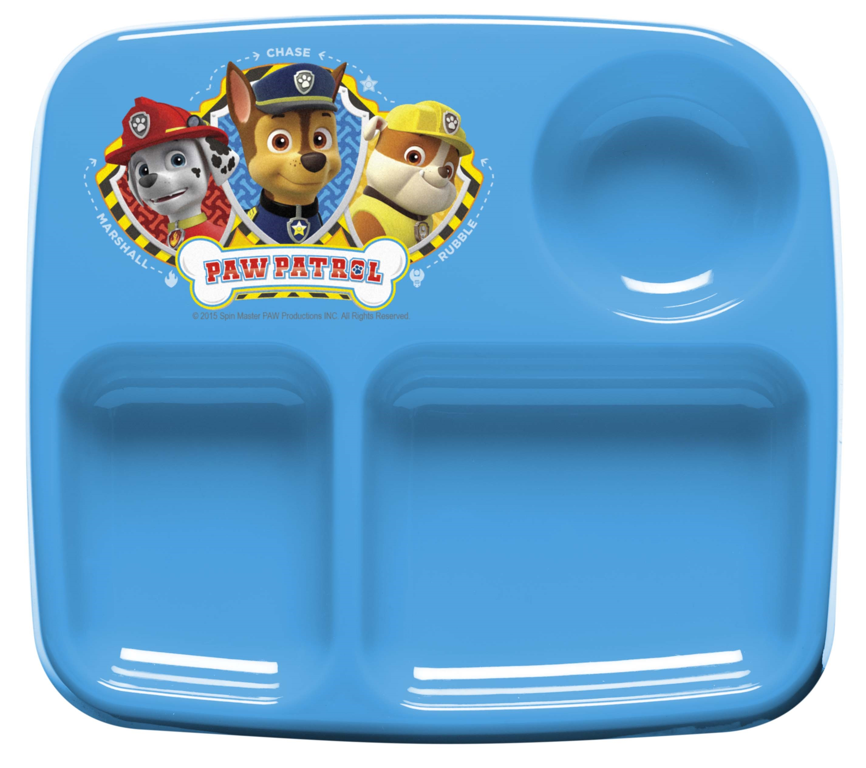 Paw Patrol Kids Plates for Toddlers by Zak! by Zak%21 Designs