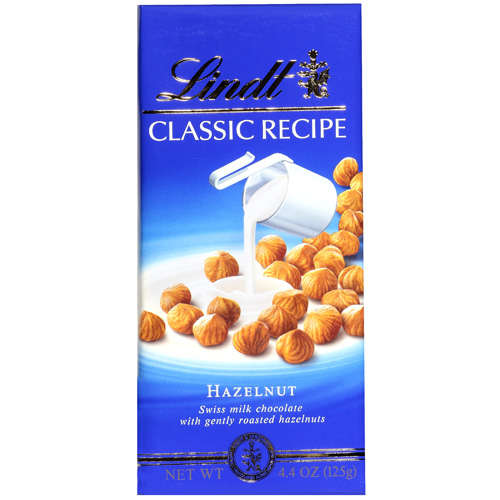 Lindt: Chocolate Classic Recipe Hazelnut, 4.4 oz