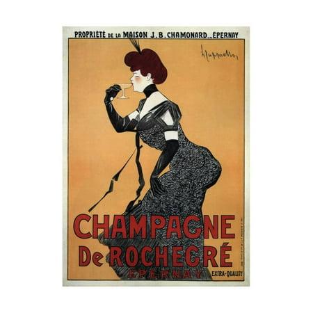 Champagne De Rochegre Print Wall Art By Leonetto -